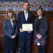 Former Access-to-HE Student Receives Prestigious Award