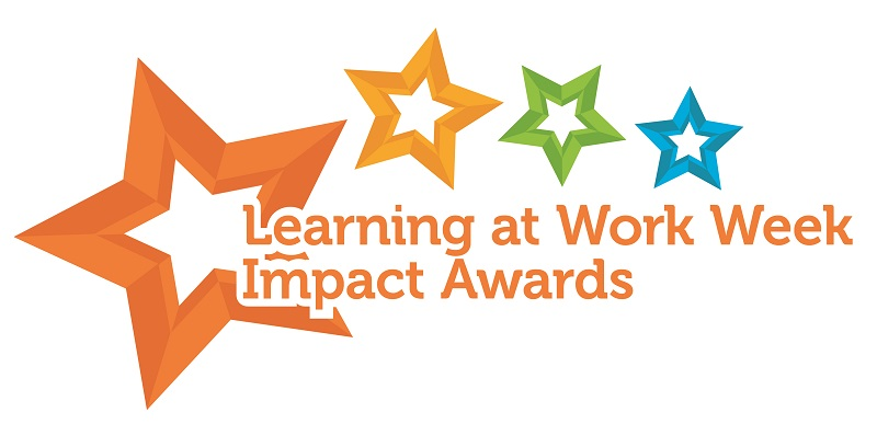 Winners of Learning at Work Week Impact Awards