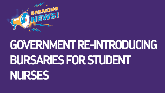 Re-Introduction of Bursaries for Student Nurses