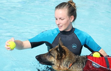 New qualifications in Canine Hydrotherapy