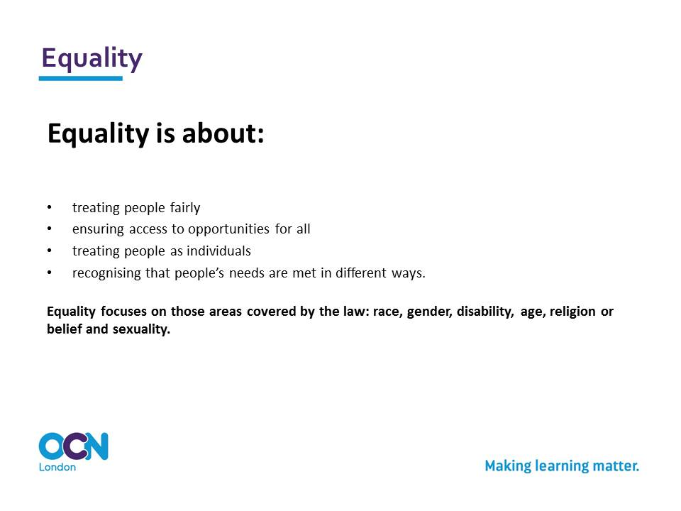 what is inclusion in health and social care